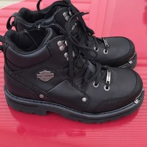 Harley Davidson motors cycle boots excellent
